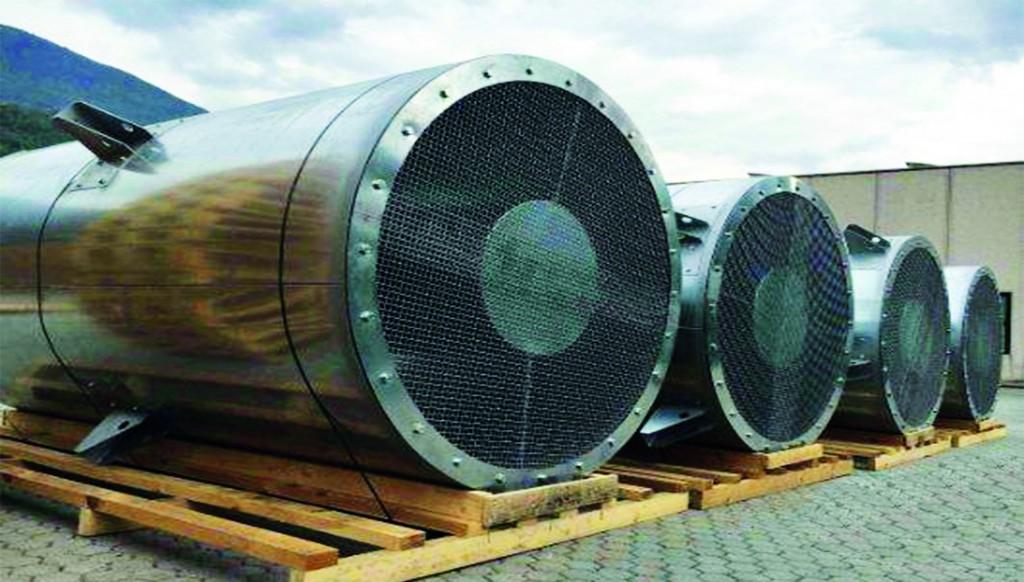 Heavy-circular-sound-attenuator